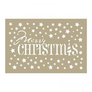 *Christmas Stencils