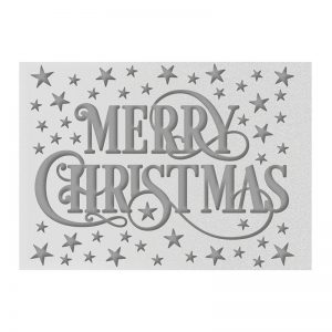 *Christmas Embossing Folders